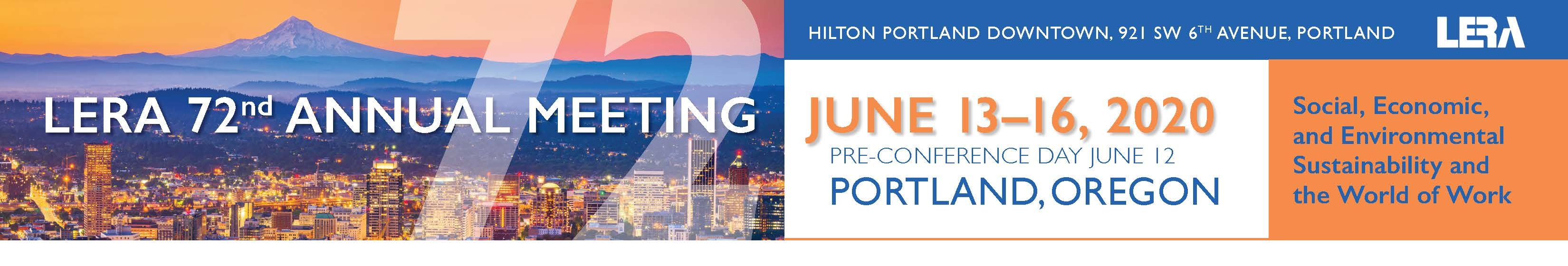 Portland Events June 2020.Lera 72nd Am Portland 2020